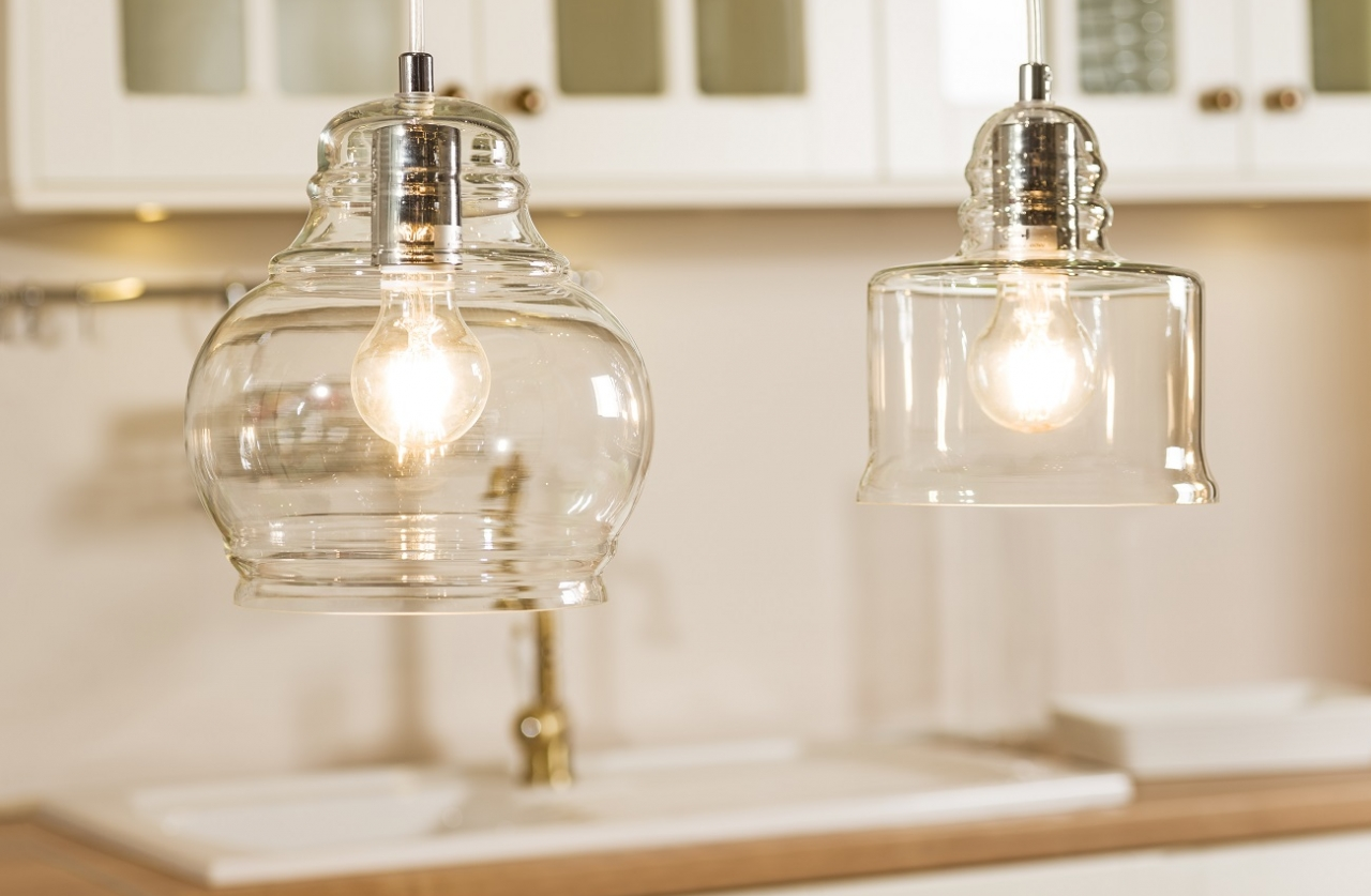 Glass Lampshade In Main Role Britop Wiring A Single Bulb Light Fixture An Example Of That Kind Universal Lamp May Be Nova Transparent Proposition From Lighting Company Delicate Shape Is